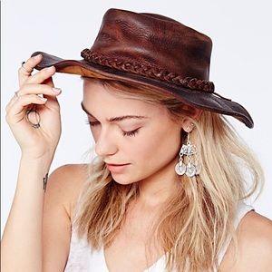 Henschel Free People Red Rock Leather Rancher Hat